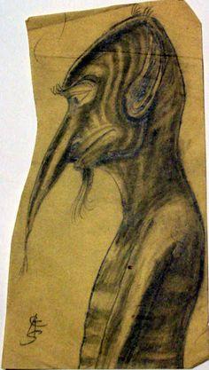 Weird Sketch.  Clark Ashton Smith.