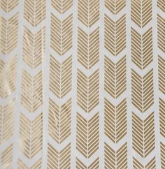 Gold Arrows Fabric