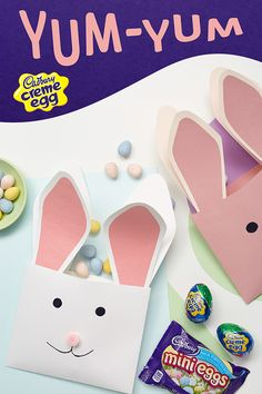 Your Easter Egg hunt is over! Cadbury Cream Eggs are back season, so throw a couple in your Easter basket this year and hop to it! Easter Projects, Easter Crafts For Kids, Toddler Crafts, Easter Ideas, Spring Crafts, Holiday Crafts, Fun Crafts, Hoppy Easter, Easter Eggs