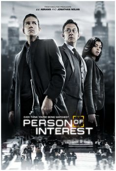 All new Person of Interest - Thursday at 9/8c on CBS