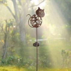 Lampe solaire jardin à LED Chat Touille - 29,30€