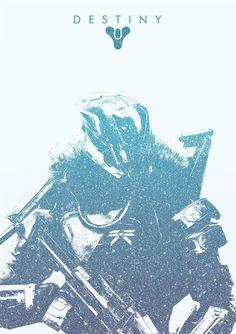 Destiny Titan Poster - Adam Doyle
