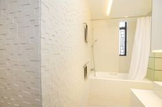 textured tile wall