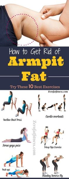 Best Exercises To Lose Arm Fat In Two Weeks How to Get Rid of Armpit Fat.Try These 10 Best Exercises. These best workouts that can help to get rid of armpit fat. These exercises are effective armpit fat removal and will help on how to lose flabby arms. Weight Loss Program, Weight Loss Tips, Weight Gain, Program Diet, Loosing Weight, Lose Weight In A Week, Fun Workouts, At Home Workouts, Fitness Workouts Arms