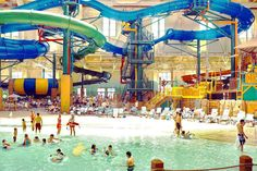 New Indoor Pool In Colorado Springs. The Great Wolf Lodge