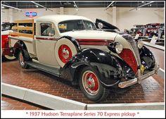 Vintage Pickup Trucks, Classic Pickup Trucks, Antique Trucks, Vintage Cars, Cool Trucks, Chevy Trucks, Station Wagon, Hudson Terraplane, Hudson Car