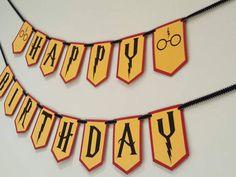 Cumpleaños de Harry potter banner de Harry potter Harry
