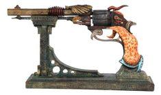 "Steampunk Colonel Fizziwigs Captain Nemos 15.5"" Pistol & Stand Set Pacific Trading http://www.amazon.com/dp/B00GWTTVNU/ref=cm_sw_r_pi_dp_6oiiub030GBZQ"