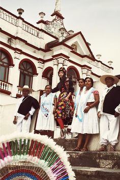 Somewhere in Mexico... : Ji Young Kwak for Vogue Korea November 2014