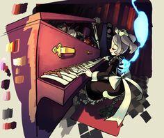 Skullgirls, Fighting Games, Death Note, Art Girl, Character Art, Art Drawings, Video Games, Anime, Tumblr