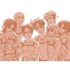 Levi and the trainees