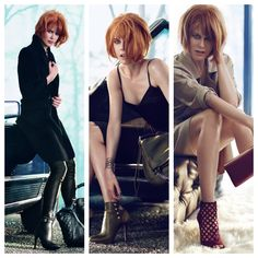 LOVE Nicole Kidman's hair in the new Jimmy Choo ads...leaning hard in this direction for new cut & color!