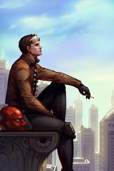 Jason Todd - Redhood (by Cimigoo)                                                                                                                                                                                 More