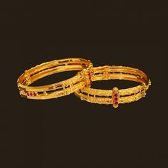 Gold coorgi Bracelet (107A25996) | Vummidi Bangaru Jewellers