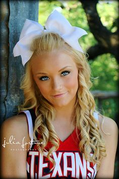 Cheer senior picture ideas...
