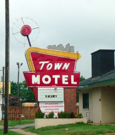 Town Motel, Birmingham, Alabama