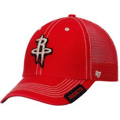 check out b63f4 d08b7 Houston Rockets  47 Turner Clean Up Snapback Adjustable Hat - Red