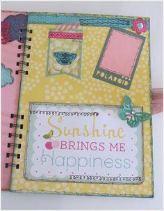 Libreta Alterada Splendid Sunshine |