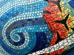 How to Make a Mosaic Lighthouse Garden Stone