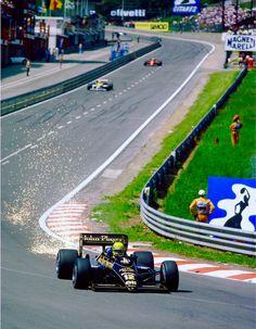 Spa Francorchamps 1986 - Senna, Mansell, Johansson -  Untouchable✔️