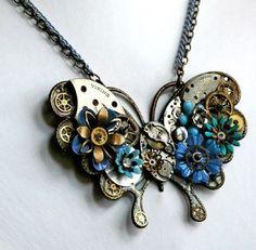 Exquisite Species - Vintage Steampunk Butterfly...