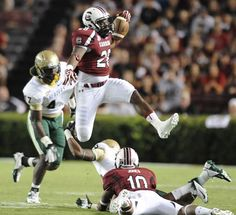 Making the effort. Go Gamecocks!    UAB Blazers vs. South Carolina Gamecocks - Photos - September 15, 2012 - ESPN