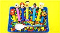 M&M's Hide & Seek Surprise Toys Fun for Kids - PEZ, Peppa Pig, Angry Birds