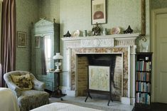 The bamboo bedroom Scotney, via Treasure Hunt National Trust Collections