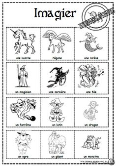 Personnages imaginaires et contes