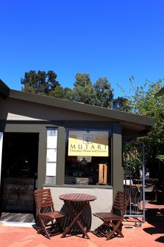 Handcrafted, ethically traded hot chocolate and sipping chocolate from Mutari Chocolate in Santa Cruz, CA!