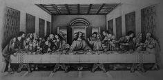 The Last Supper Sketch http://instagram.com/conlll http://www.facebook.com/conetree