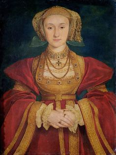 "Hans Holbein ""Portrait of Anne of Cleves"" 1539 