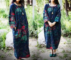 Plus Size femmes Maxi Dress de Fashion Lady sur DaWanda.com