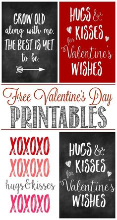 Great collection of free Valentine's Day printables and some cute ways to display them for some unique Valentine's Day decor. valentines day Free Valentine's Day Printables - Clean and Scentsible Valentines Day Sayings, Valentine Wishes, Saint Valentine, Valentine Day Love, Valentine Day Crafts, Valentine Decorations, Valentine Bouquet, Valentine Ideas, Free Printable Valentines