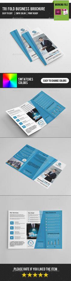 Business Trifold Brochure Template PSD #design Download: http://graphicriver.net/item/business-trifold-brochurev273/14367528?ref=ksioks