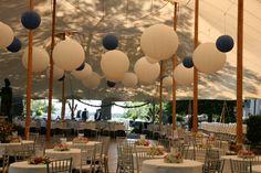 Wedding Reception Asian Lanterns // Sperry Tents Southeast // Skyline Tent Company