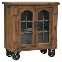 Ravenshaw Cabinet.  What a great idea - furniture on wheels.