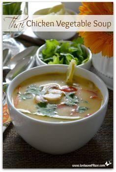 Thai Chicken Vegetab