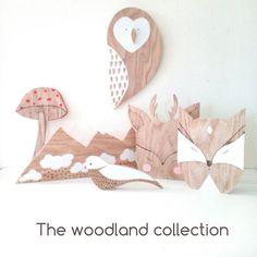 The woodland collection #woodland #forest #animals #handmade #wooden #owl #fox #deer #bird #mushroom #mountains #wallart #walldecor #nurserydecor #etsyfinds #etsyshop #etsyhunter #smallshop #egst #woodworking #woodenart #woodburning #pyrography #minimal #fawn #naturaldecor | SnapWidget