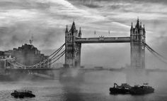 A foggy day in London town by thegreatmisto.deviantart.com on @deviantART