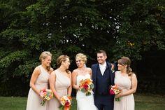mori Lee for a bright & modern wedding at ringwood hall