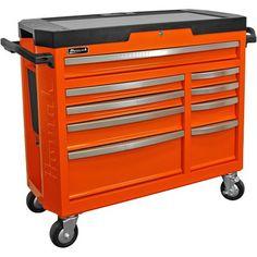 "Homak 9 Drawer 41"" Roller Cabinet GT Series"