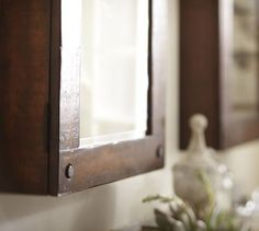 ... Benchwright Wall-Mount Medicine Cabinet | Pottery Barn ...