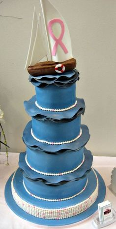 Set Sail For Discovery Gala  on Cake Central