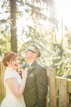 A Tree House Wedding in Alnwick, Northumberland. Photography by Sarah-Jane…