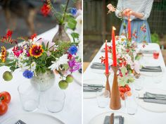 Backyard Dinner Party | Last summer party inspiration | #slowdownwithschoolhouse