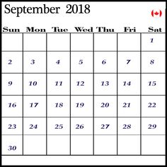 106 best september 2018 calendar images in 2018 september calendar