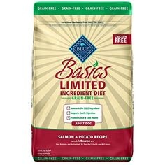 Our Official Blue Buffalo Basics Limited Ingredient Grain-Free Dog Food - Salmon & Potato is the perfect product for almost any pet at an exceptional value! Turkey And Potato Recipe, Potato Recipes, Dog Food Recipes, Limited Ingredient Dog Food, Deboned Turkey, Salmon Potato, Grain Free Dog Food, Barley Grass, Food Plus