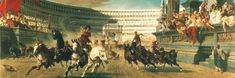 The Chariot Race oil on canvas 1882. Does anybody know where to get a decent quality print? http://ift.tt/2rJQCYt