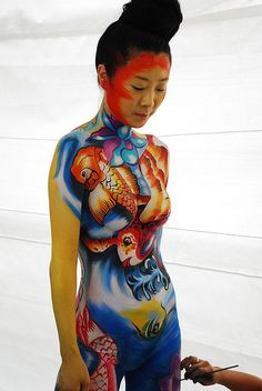 International Body Painting Festival By Sonja Jean On Flickr BodyPaintMagazine Art BodyArt